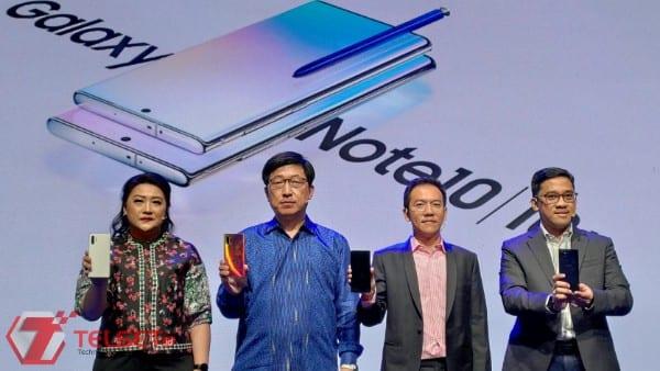 """""""Powerphone"""" Galaxy Note 10 Resmi Melenggang di Indonesia"""