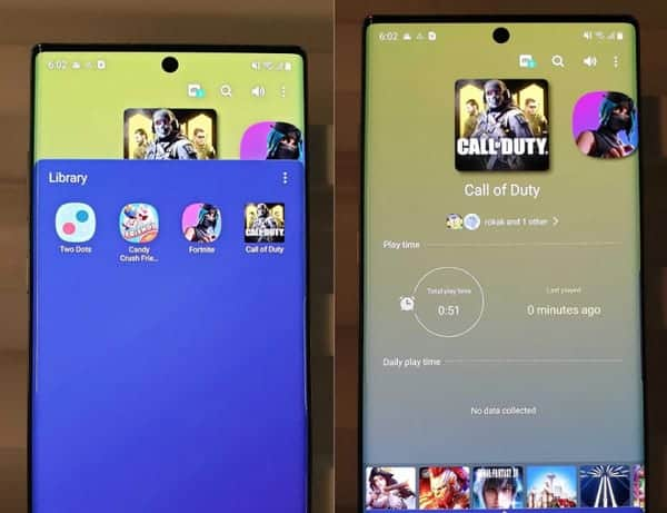 Duo Galaxy Note 10 Tersemat Game Call of Duty: Mobile