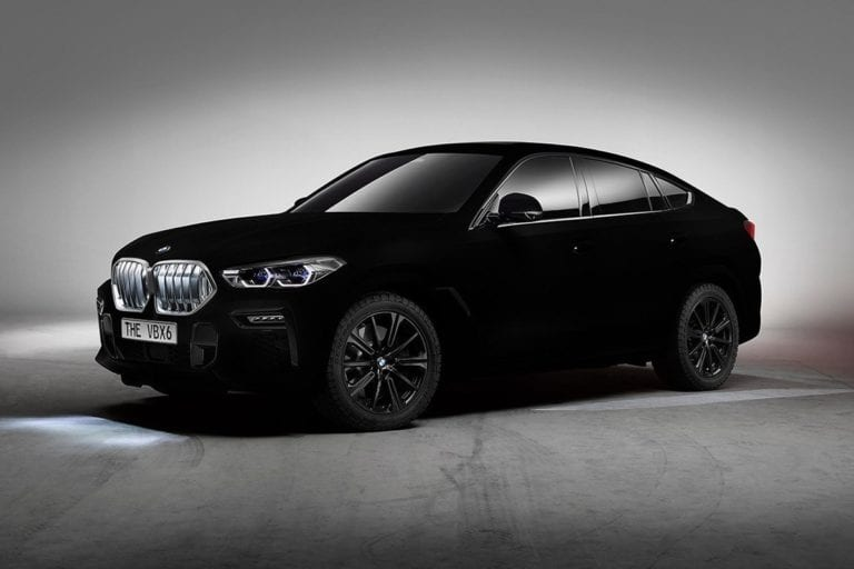 """Berwarna """"Vantablack"""", Mobil BMW Ini Paling Hitam Sedunia"""