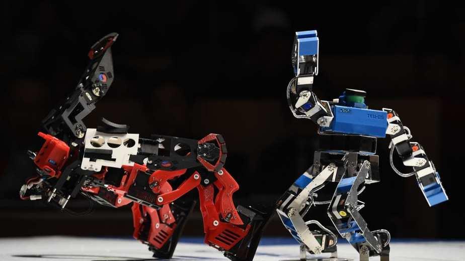 Video Adu Robot