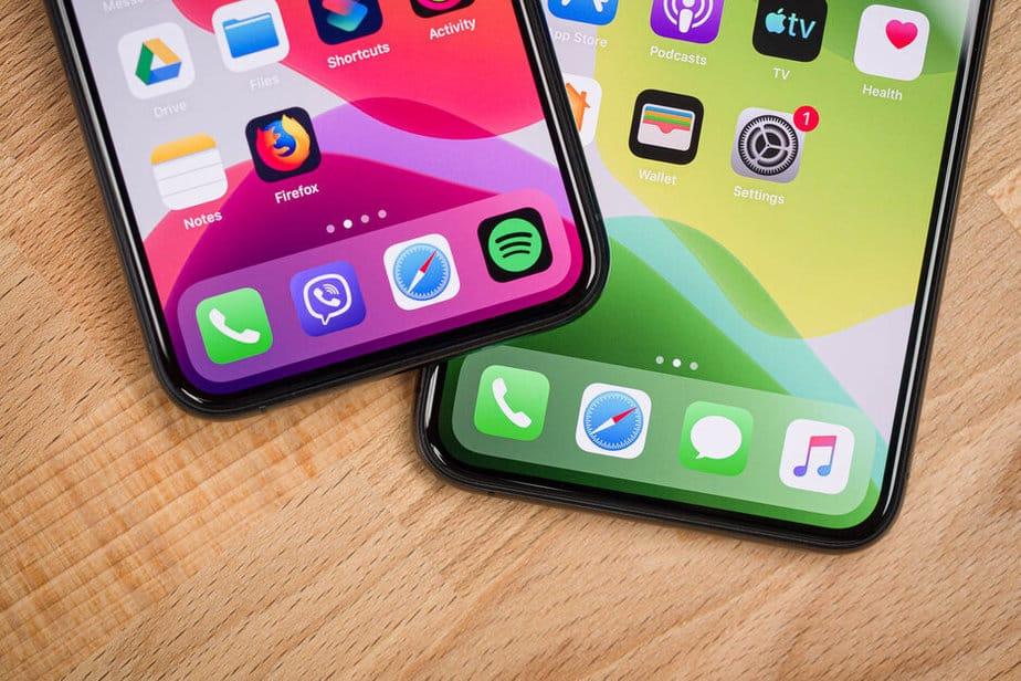 Layar iPhone 11
