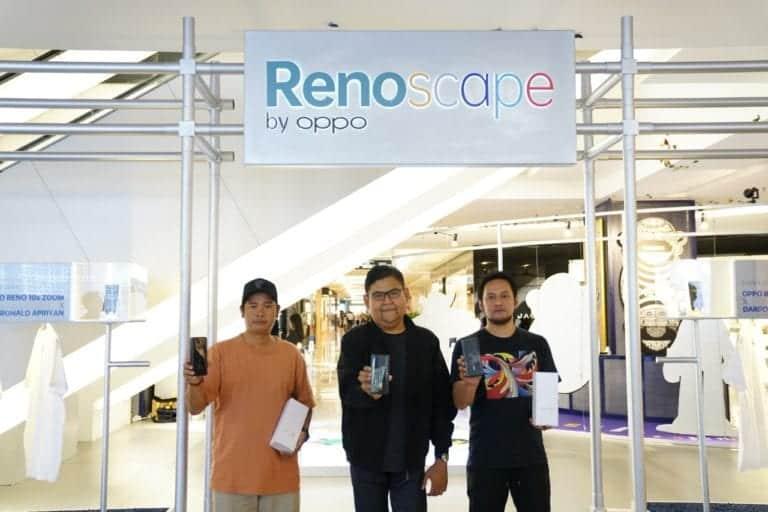 OPPO Renoscape Kumpulkan Dana Sosial Rp 1,7 Miliar