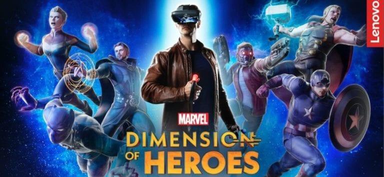 Marvel Dimension Of Heroes Hadir di Platform Mirage AR Lenovo