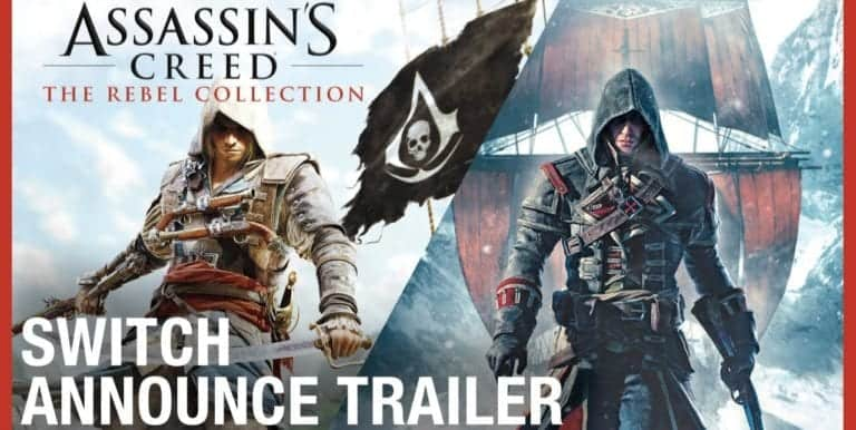 Assassin's Creed: The Rebel Collection Hadir untuk Nintendo Switch