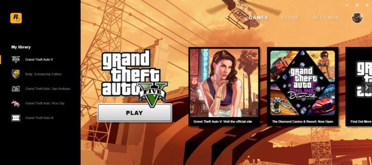 Rockstar Luncurkan Launcher Game PC Sendiri