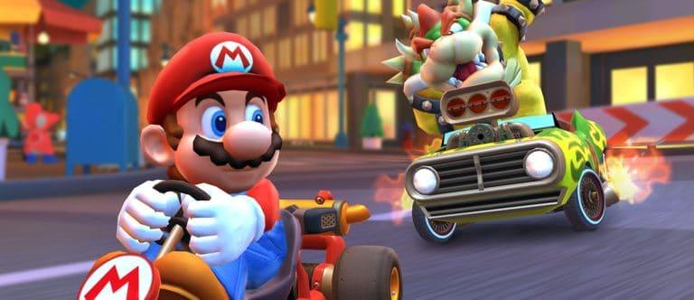 Ada Beberapa Opsi Bantuan di Mario Kart Tour