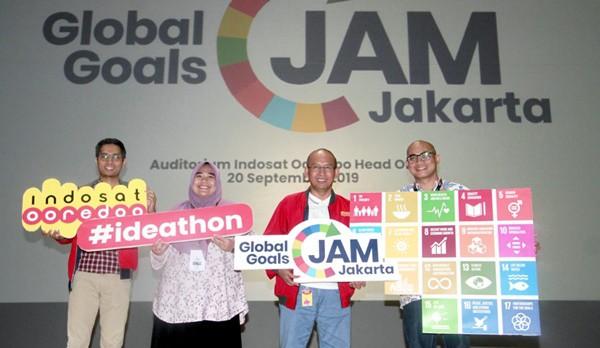 "Indosat Gelar ""Global Goals Jam"" Pertama di Indonesia"