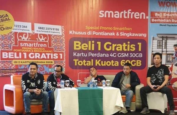Layanan 4G Smartfren Hadir di Pontianak dan Singkawang