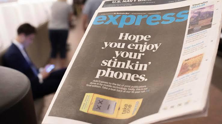 Express, Koran Kota Milik Bos Amazon Gulung Tikar