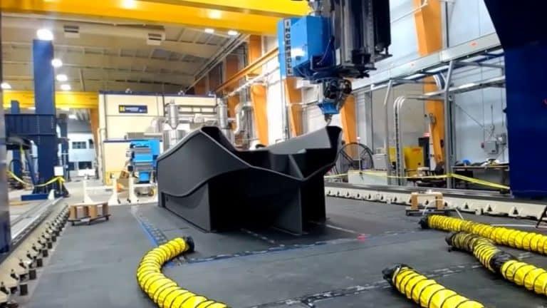 Printer 3D Terbesar di Dunia Bisa Cetak Kapal Boat