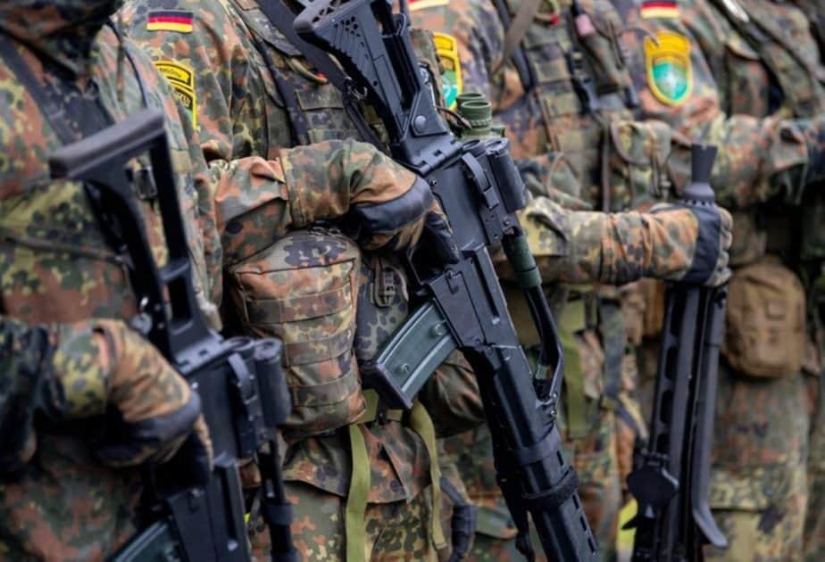 Tentara Jerman smartphone samsung