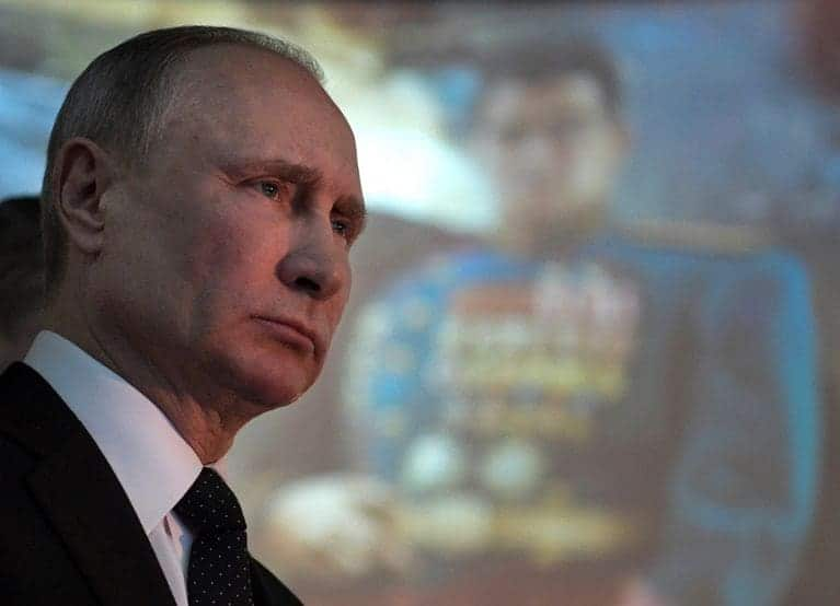 Facebook Coret Akun Sekutu Presiden Putin Gara-gara Ini
