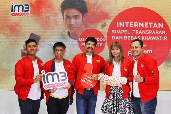 Paket Freedom Internet IM3 Ooredoo Kasih Kebebasan ke Pangguna