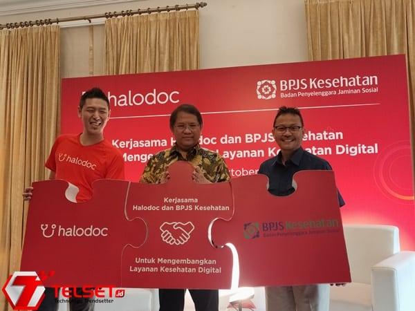 Halodoc Kerjasama BPJS Kembangkan Layanan Kesehatan Digital