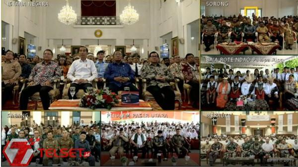 Jokowi Resmikan Palapa Ring, Hubungkan 514 Kabupaten dan Kota