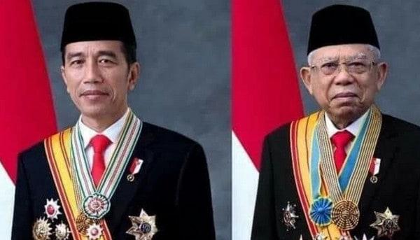 Sah! Jokowi dan Ma'ruf Amin Jadi Presiden dan Wakil Presiden RI