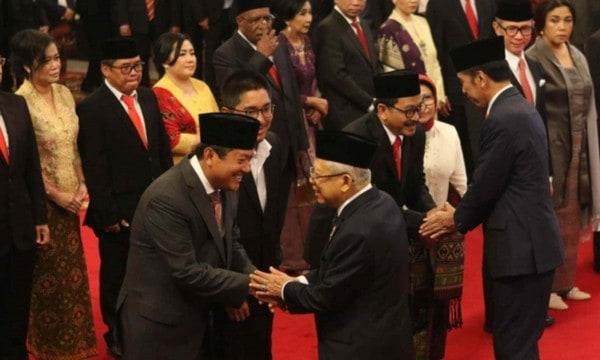 Presiden Jokowi Lantik 12 Wakil Menteri Kabinet Indonesia Maju