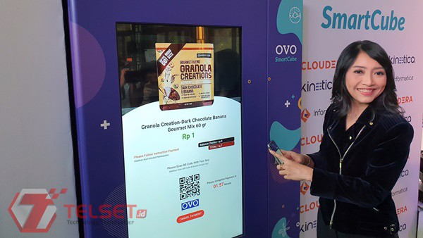 Ribuan OVO SmartCube Segera Layani Pembeli pada 2021