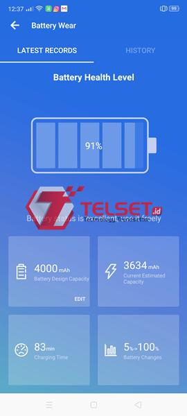 Battery test Oppo Reno2