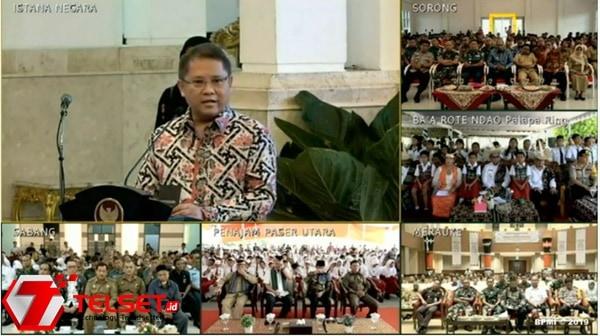 Rudiantara Curhat ke Jokowi Soal Kendala Proyek Palapa Ring