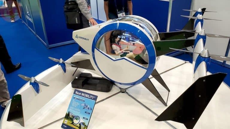 Drone Gondola Ini Bisa Angkut Empat Penumpang