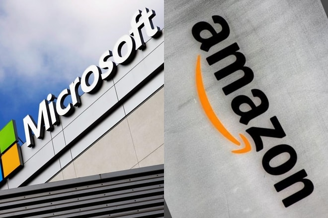 Microsoft dan Amazon 'Rebutan' Kontrak Cloud Computing Pentagon