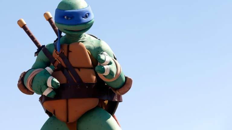 "Kostum Leonardo ""Kura-kura Ninja"" Dilelang Rp 142 Jutaan, Minat?"