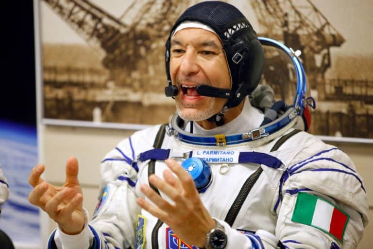 Astronot Italia Nonton Piala Dunia Rugby dari Luar Angkasa