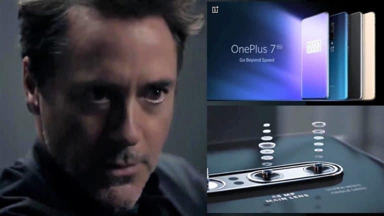 "Robert ""Iron Man"" Downey Jr Bintangi Iklan OnePlus 7T"