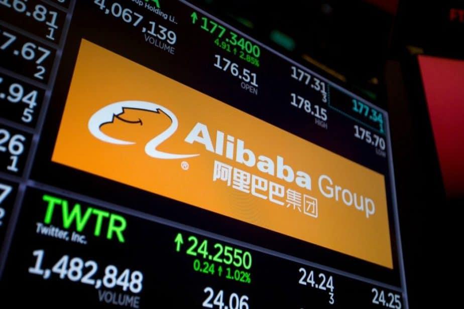 Alibaba saham Hong Kong