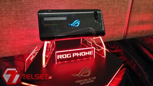 Tampang dan Spek Sangar ROG Phone 2 yang akan Hadir di Indonesia
