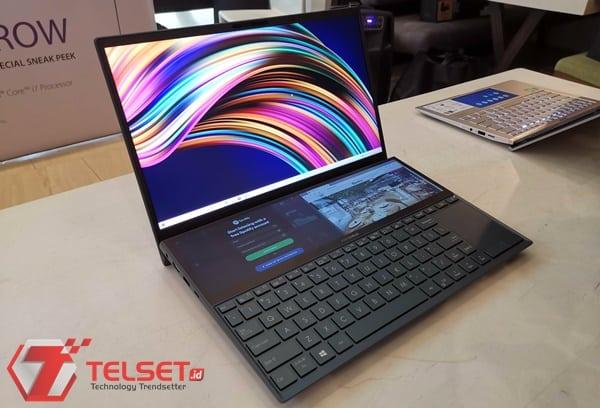 Laptop Dua Layar, Asus ZenBook Pro Duo akan Hadir di Indonesia