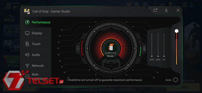Cara Jitu Aktifkan Ludicrous Mode di Black Shark 2 Pro