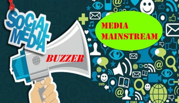 """Buzzer vs Media Mainstream: Dengungan """"Tetangga yang Berisik"""""""