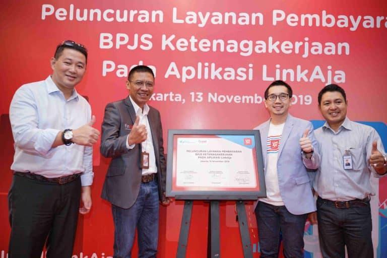 Bayar Iuran BPJS Ketenagakerjaan Kini Bisa Lewat LinkAja