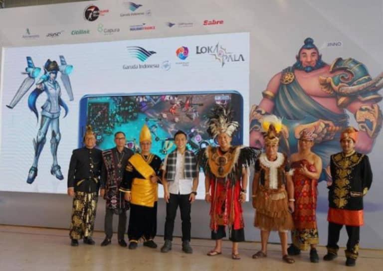 Garuda Indonesia Perkenalkan Sosok GIA di Game Lokalapa