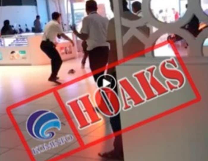 Video Ponsel Terbakar di mall emporium