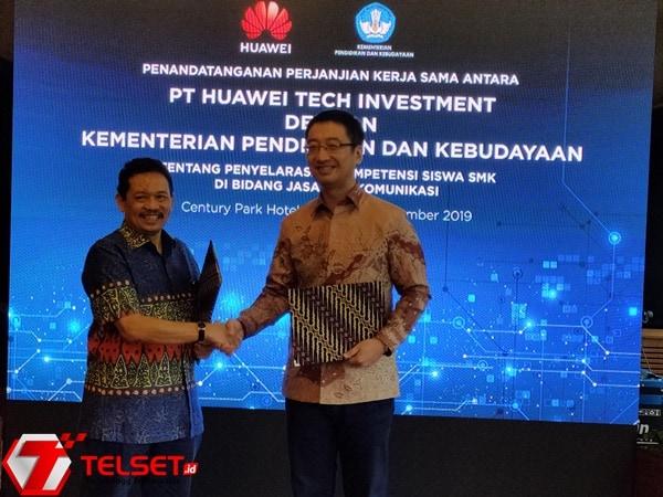 Huawei dan Kemendikbud Sepakat Tingkatkan Skill TIK Siswa SMK