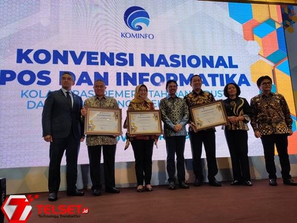 Menkominfo Buka Konvensi Nasional Pos dan Informatika