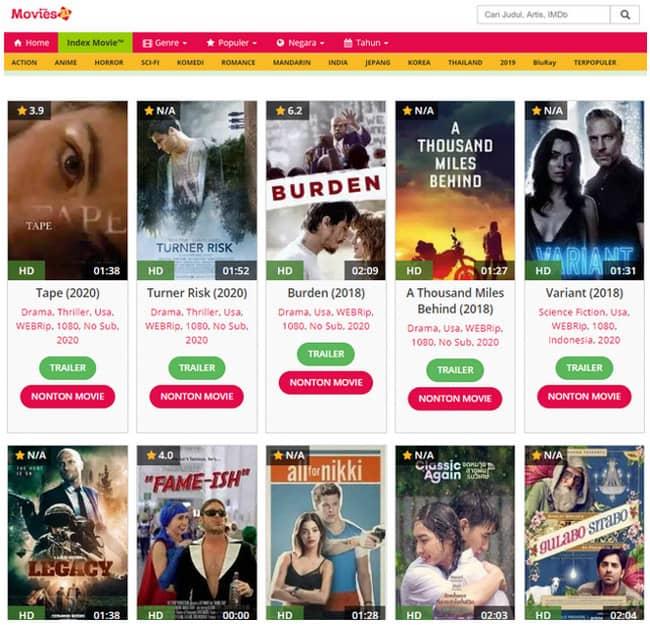 Pengganti IndoXXI, 10 Situs Nonton Film Online Gratis 2020 ...