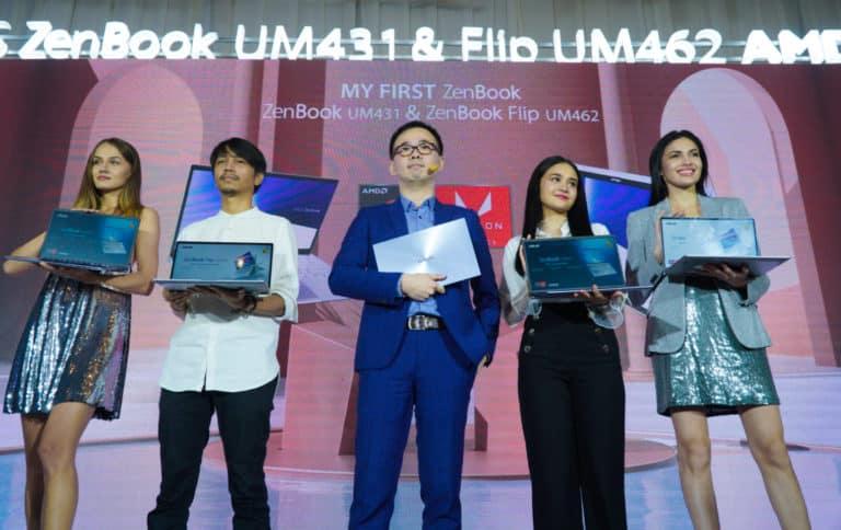Resmi Meluncur, Duo Asus ZenBook Premium Diotaki AMD Ryzen