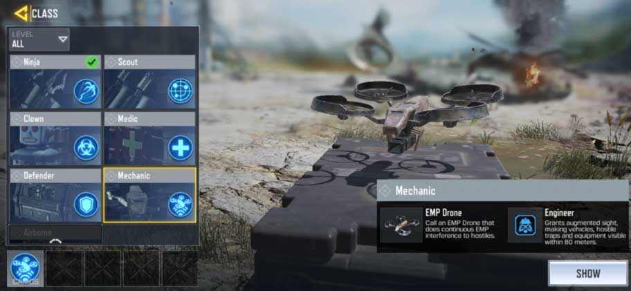 Class COD Mobile Mechanic