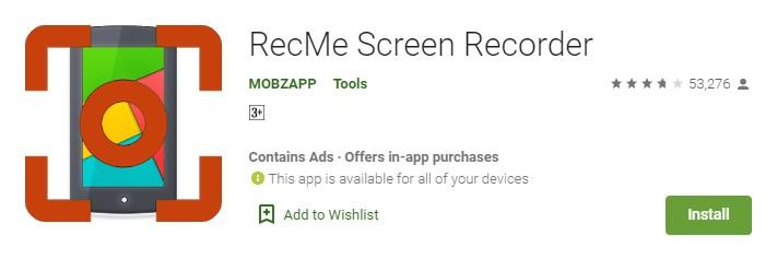Aplikasi Perekam Layar Android Terbaik Tanpa Watermark