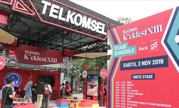 Telkomsel Kickfest 2019