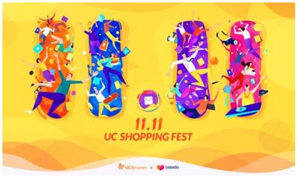 UC Browser Bagi-bagi Smartphone di Festival Belanja 11.11