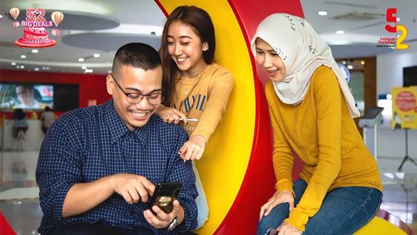 Indosat Ooredoo Bagi-bagi Kuota dan Cashback di Ultah ke-52