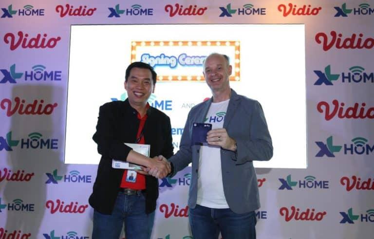 XL Home Tambahkan Layanan Streaming Vidio