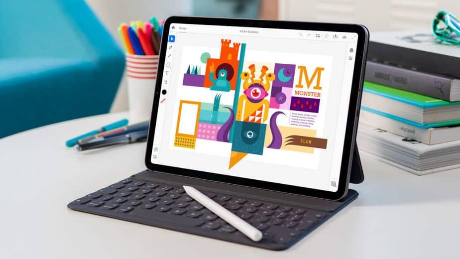 Adobe Ilustrator iPad