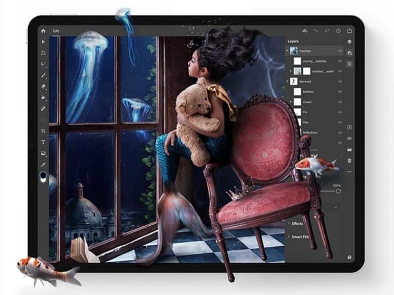 Akhirnya Adobe Photoshop Resmi Tersedia untuk iPad