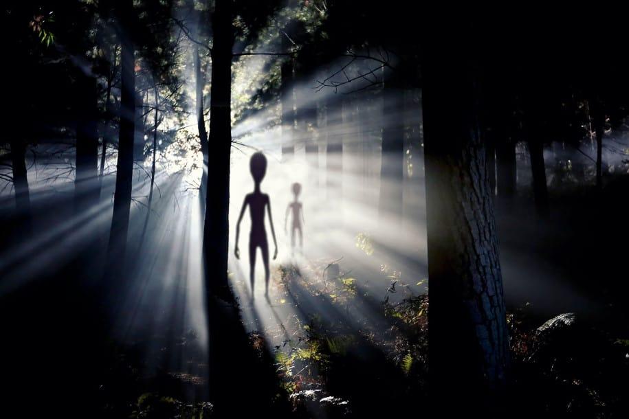 Alien manusia